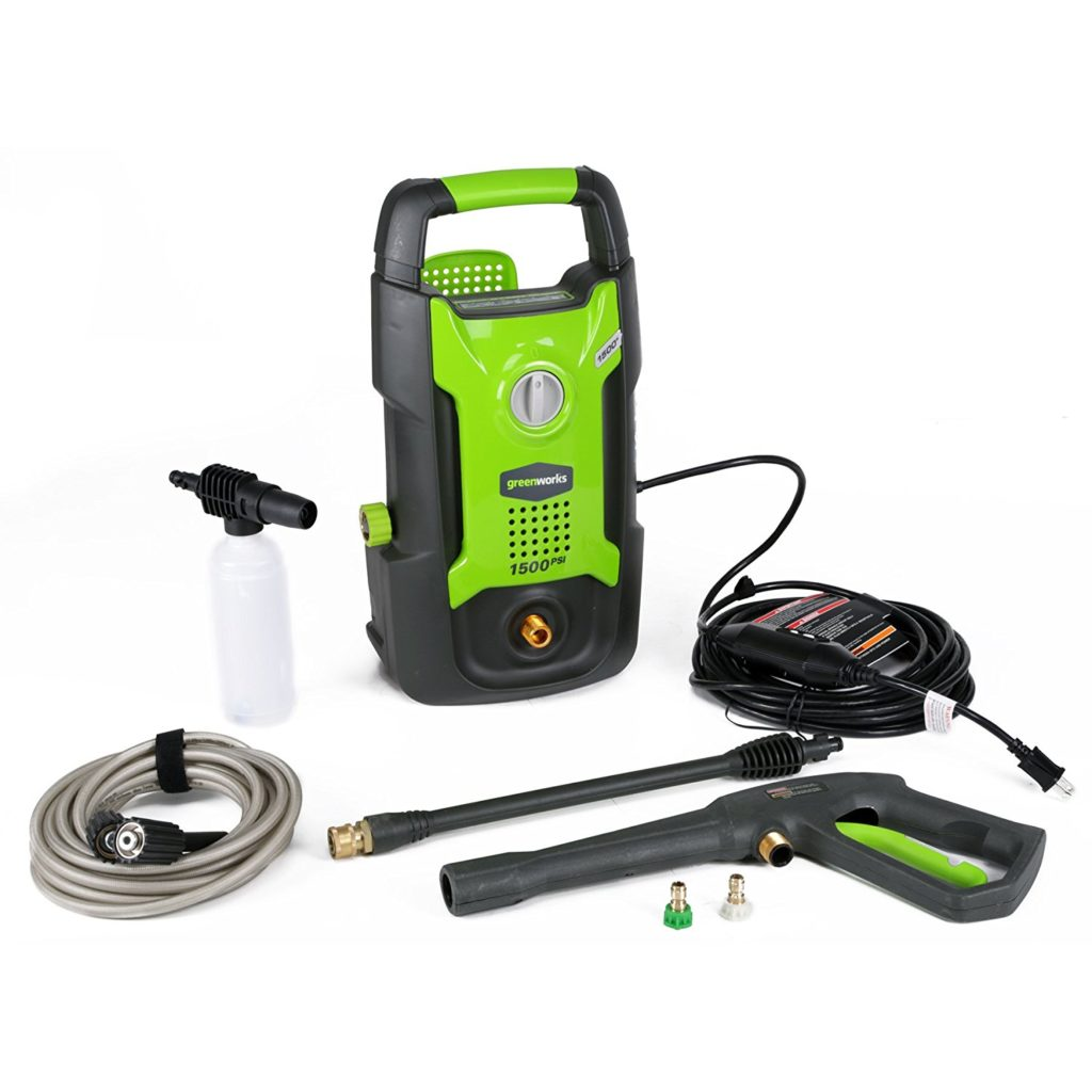 Greenworks GPW1501 Electric Pressure Washer.