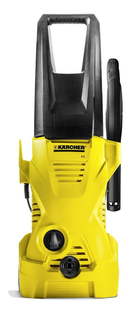 Reviewed here: Karcher K2 plus electric pressure washer.